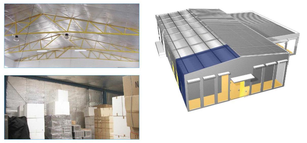 Isolamento Acústico Térmico de Telhados