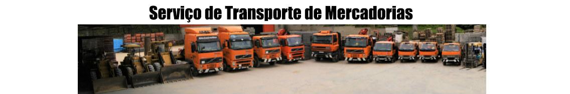 Servico de transporte de mercadorias